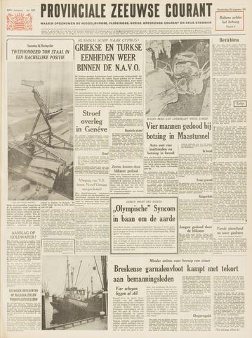 Provinciale Zeeuwse Courant 1964-08-20