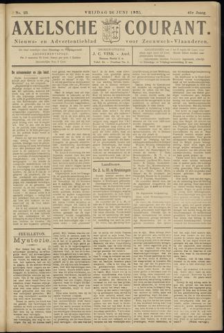 Axelsche Courant 1925-06-26