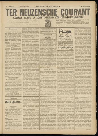 Ter Neuzensche Courant. Algemeen Nieuws- en Advertentieblad voor Zeeuwsch-Vlaanderen / Neuzensche Courant ... (idem) / (Algemeen) nieuws en advertentieblad voor Zeeuwsch-Vlaanderen 1934-01-24