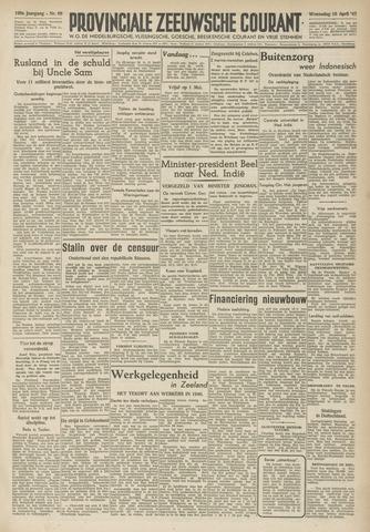 Provinciale Zeeuwse Courant 1947-04-16