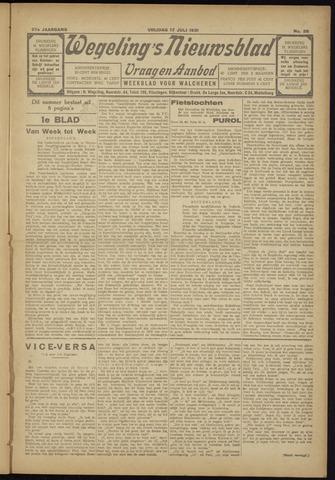 Zeeuwsch Nieuwsblad/Wegeling's Nieuwsblad 1931-07-17