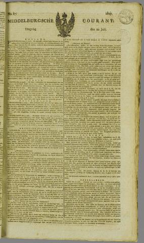 Middelburgsche Courant 1817-07-22