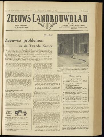 Zeeuwsch landbouwblad ... ZLM land- en tuinbouwblad 1960-02-27