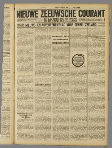 Nieuwe Zeeuwsche Courant 1929-01-15