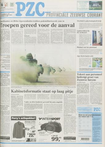 Provinciale Zeeuwse Courant 2003-03-20