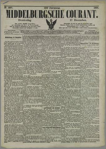 Middelburgsche Courant 1891-12-17