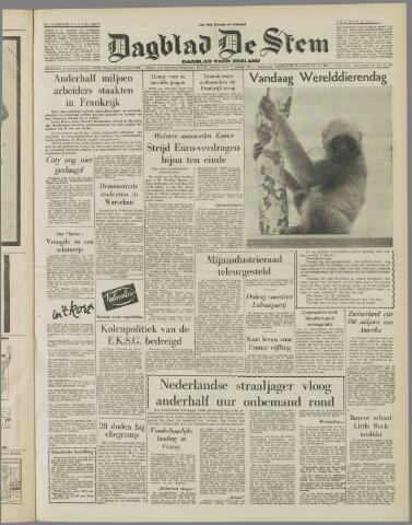 de Stem 1957-10-04
