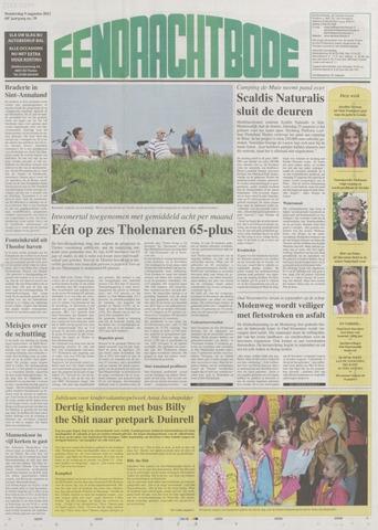 Eendrachtbode (1945-heden)/Mededeelingenblad voor het eiland Tholen (1944/45) 2012-08-09