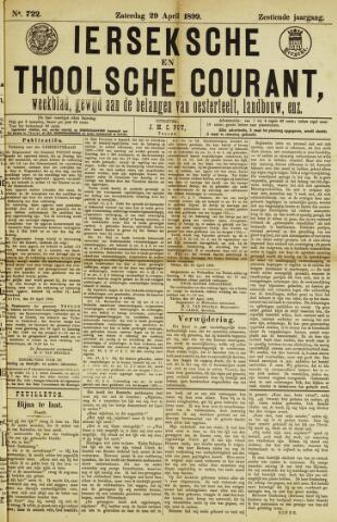 Ierseksche en Thoolsche Courant 1899-04-29