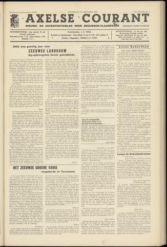 Axelsche Courant 1962-10-20