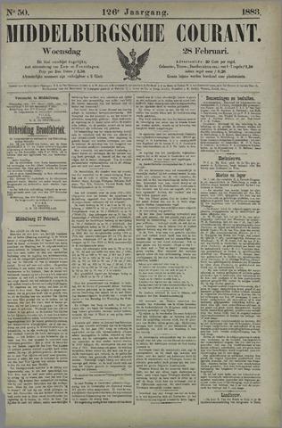 Middelburgsche Courant 1883-02-28