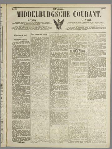 Middelburgsche Courant 1908-04-10