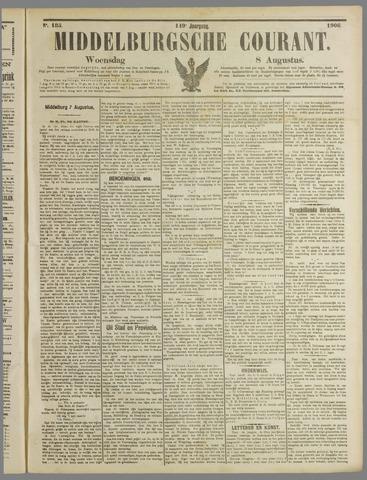 Middelburgsche Courant 1906-08-08