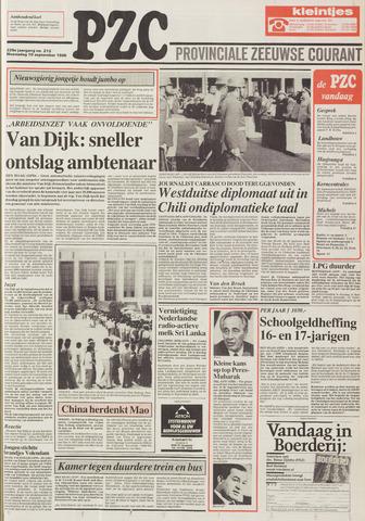 Provinciale Zeeuwse Courant 1986-09-10