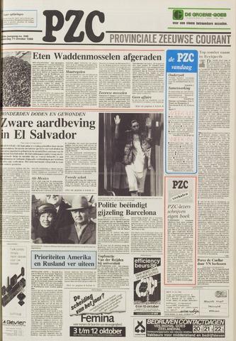 Provinciale Zeeuwse Courant 1986-10-11