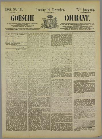 Goessche Courant 1885-11-10