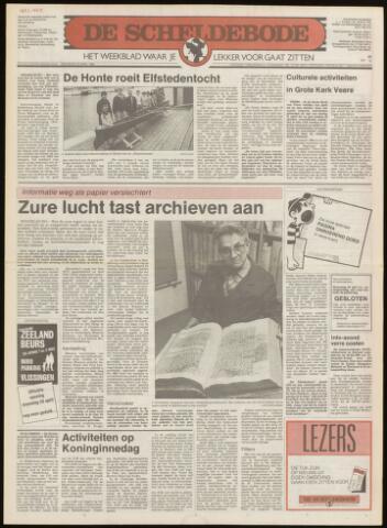 Scheldebode 1986-04-24