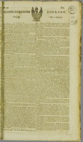 Middelburgsche Courant 1817-08-05