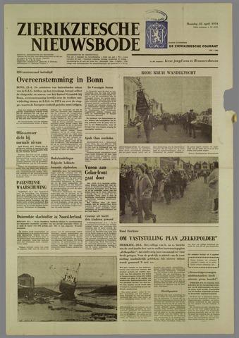 Zierikzeesche Nieuwsbode 1974-04-22