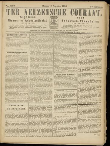 Ter Neuzensche Courant. Algemeen Nieuws- en Advertentieblad voor Zeeuwsch-Vlaanderen / Neuzensche Courant ... (idem) / (Algemeen) nieuws en advertentieblad voor Zeeuwsch-Vlaanderen 1904-08-09