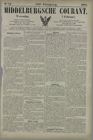 Middelburgsche Courant 1883-02-07