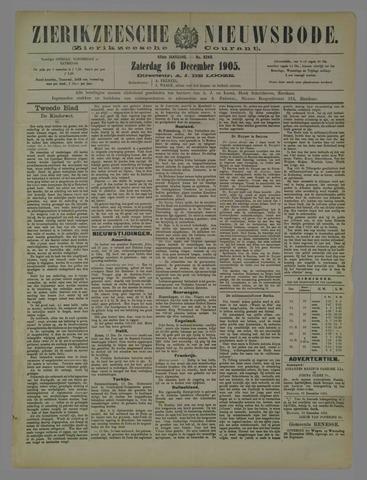 Zierikzeesche Nieuwsbode 1905-12-16