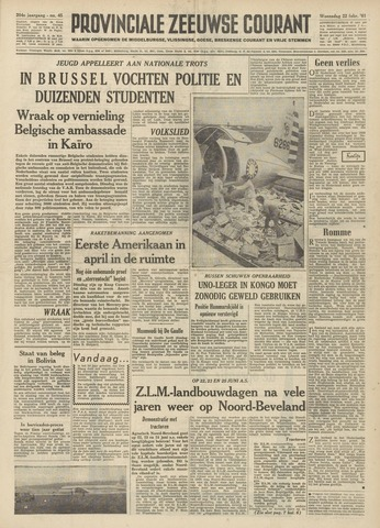 Provinciale Zeeuwse Courant 1961-02-22