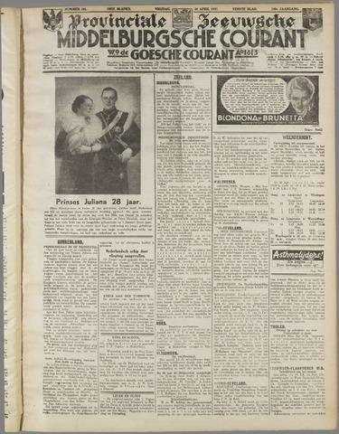 Middelburgsche Courant 1937-04-30