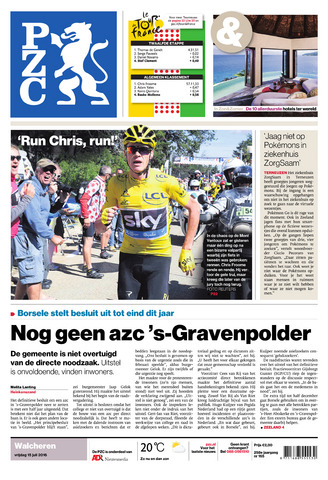 Provinciale Zeeuwse Courant 2016-07-15