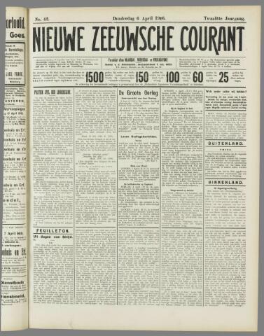 Nieuwe Zeeuwsche Courant 1916-04-06