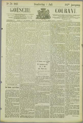 Goessche Courant 1915-07-01
