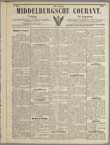 Middelburgsche Courant 1905-08-25