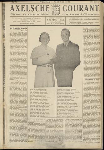 Axelsche Courant 1937-01-08