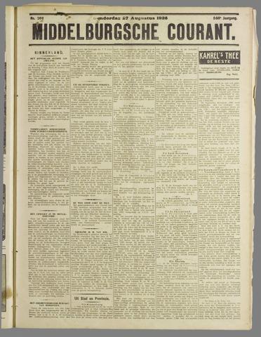 Middelburgsche Courant 1925-08-27