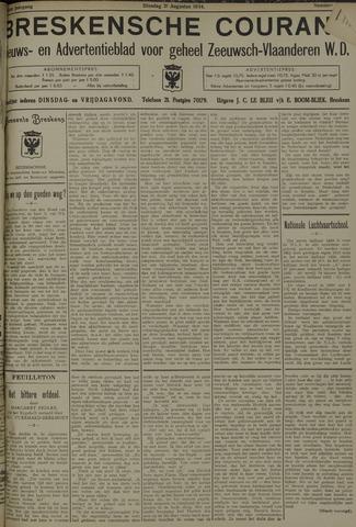 Breskensche Courant 1934-08-21