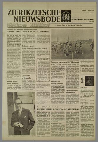 Zierikzeesche Nieuwsbode 1963-04-09