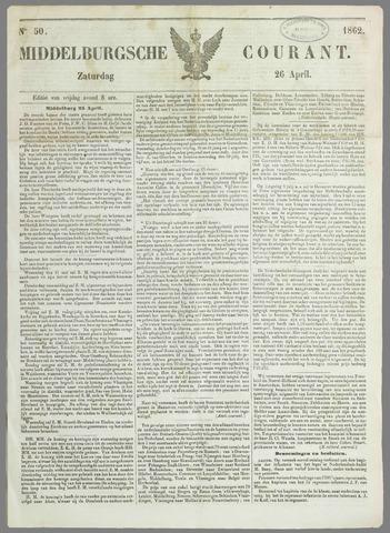 Middelburgsche Courant 1862-04-26