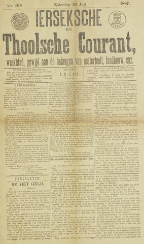 Ierseksche en Thoolsche Courant 1887-07-23
