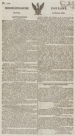 Middelburgsche Courant 1829-10-10