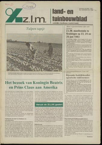 Zeeuwsch landbouwblad ... ZLM land- en tuinbouwblad 1982-04-30