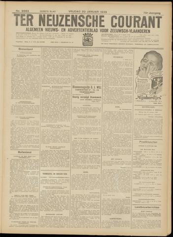 Ter Neuzensche Courant. Algemeen Nieuws- en Advertentieblad voor Zeeuwsch-Vlaanderen / Neuzensche Courant ... (idem) / (Algemeen) nieuws en advertentieblad voor Zeeuwsch-Vlaanderen 1939-01-20