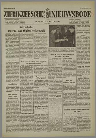 Zierikzeesche Nieuwsbode 1958-01-28