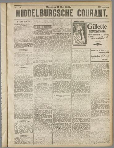 Middelburgsche Courant 1922-05-15
