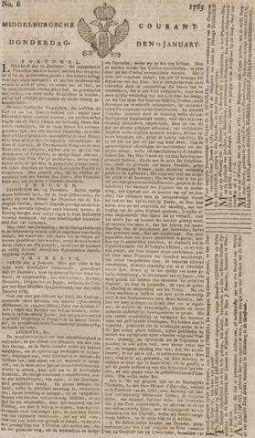Middelburgsche Courant 1785-01-13