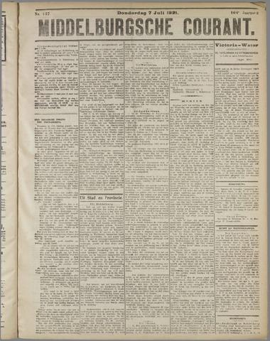 Middelburgsche Courant 1921-07-07