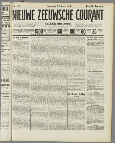 Nieuwe Zeeuwsche Courant 1916-10-05