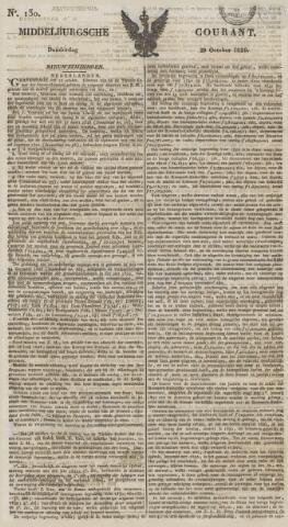 Middelburgsche Courant 1829-10-29