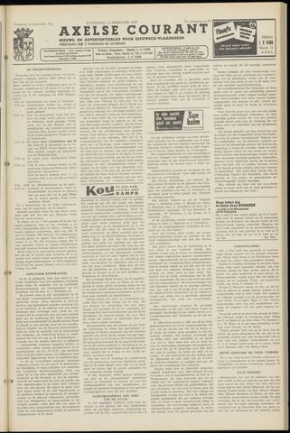 Axelsche Courant 1959-02-14