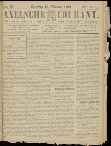 Axelsche Courant 1922-02-25
