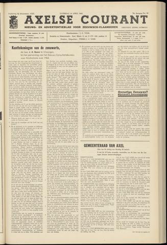 Axelsche Courant 1965-04-10